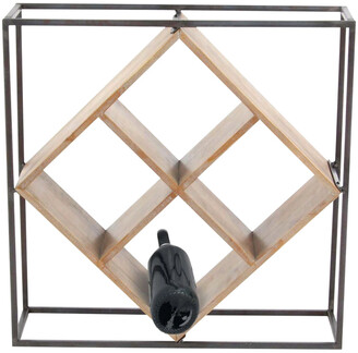 Uma Enterprises Metal Wine Rack