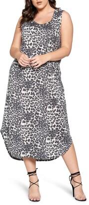 Curvyture Scoop Neck Sleeveless Dress