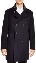 Armani Collezioni Wool & Cashmere Double-Breasted Overcoat