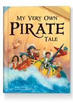 Toddler 'My Very Own Pirate Tale' Personalized Hardcover Book