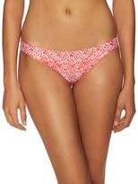 Shoshanna Elasticized Printed Bikini Bottom