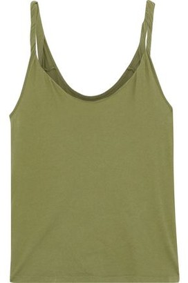 Current/Elliott The Twisted Cotton-jersey Tank