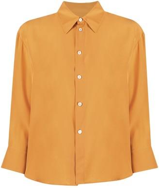Jil Sander Button-Up Silk Shirt