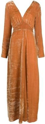 Forte Forte velvet maxi dress