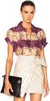 Lanvin Open Collar Bowling Shirt