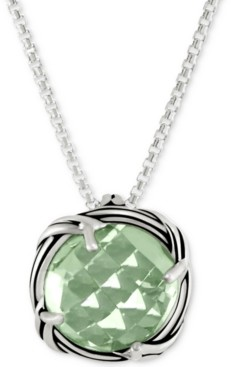 "Peter Thomas Roth Prasiolite 20"" Pendant Necklace (4 ct. t.w.) in Sterling Silver"