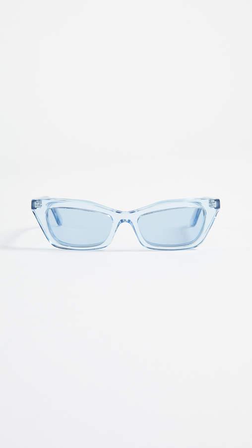Balenciaga Transparent Sunglasses