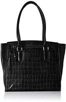 Jost Womens Tallin City Shopper Bowling Bag Black