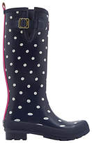 Joules Printed Waterproof Rubber Wellington Boots
