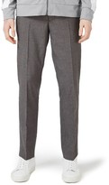 Topman Men's Textured Skinny Fit Suit Trousers