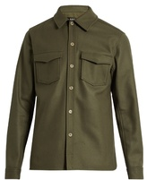 A.p.c. Beach House Wool And Cashmere-blend Jacket