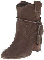 Dolce Vita Womens Melah Suede Belted Ankle Boots