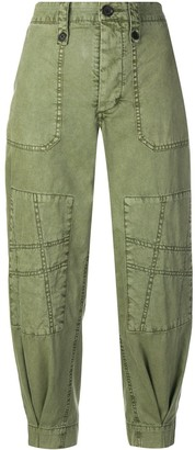 Zadig & Voltaire Pia military trousers