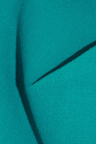 Roland Mouret Breccia folded wool-crepe dress