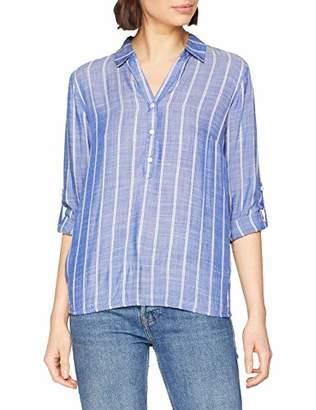 Tom Tailor NOS) Women's 1009255 Blouse, (Dark Blue Stripe Ver 11792), 18 (Size: )