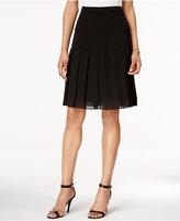 Kasper Petite A-Line Chiffon Skirt