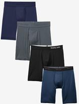Tommy John Boxer Brief Fabric Sampler 4 Pack