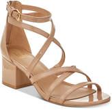 Material Girl Inez Block-Heel Sandals, Created for Macy's Women's Shoes