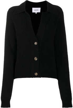 Nanushka Spread Collar Cardigan