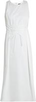 The Row Lao stretch-cotton midi dress