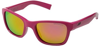 Julbo Eyewear Juniors Reach L Sunglasses (10-15 Years Old) (Shiny Rose With Spectron 3 Color Flash Lens) Sport Sunglasses