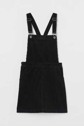 H&M Corduroy Overall Dress