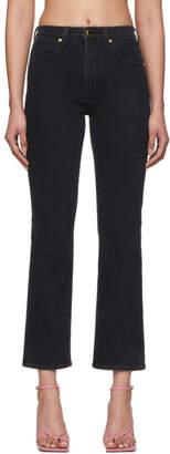 KHAITE Black Vivian Jeans