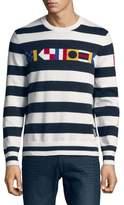 Nautica Striped Signal Flag Sweater