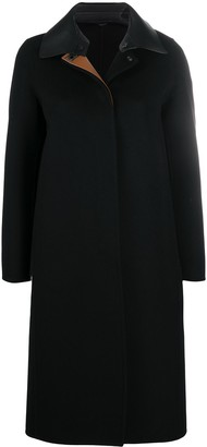 Salvatore Ferragamo Detachable Collar Coat