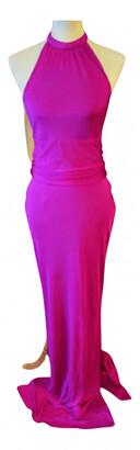 Agent Provocateur pink Silk Dresses