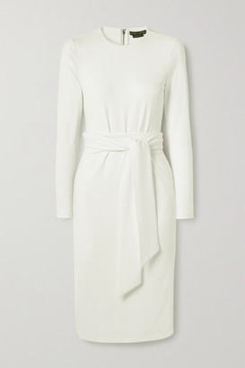 Alice + Olivia Delora Stretch-crepe Dress