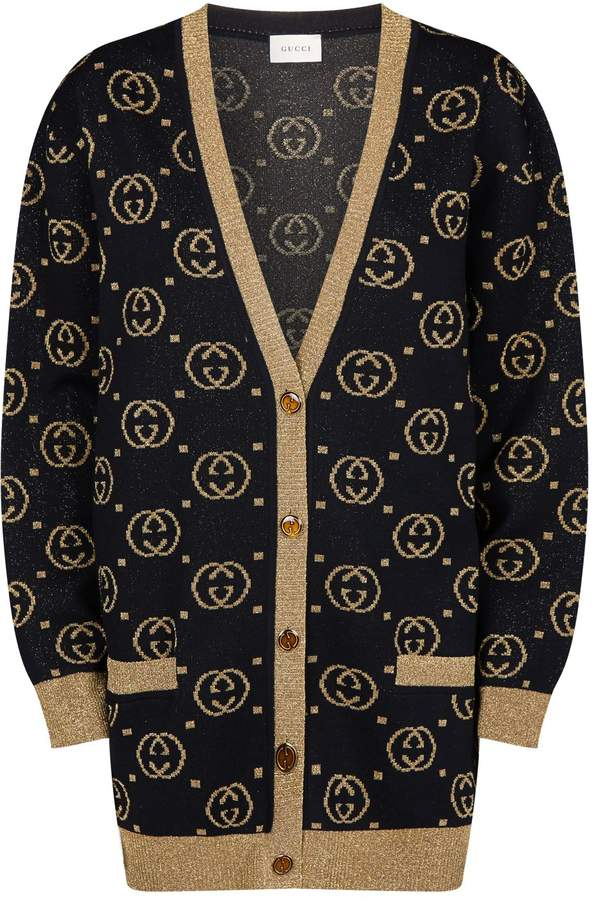 Gucci Lurex GG Cardigan