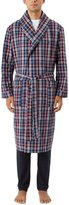 Morley Wolsey Men's Inertia Light Weight Cotton Bath Robe Dressing Gown US09M (Check)