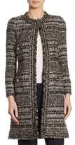 Edward Achour Long Wool Tweed Jacket