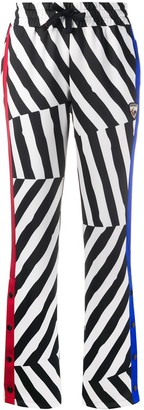 Rossignol x JCC striped track pants