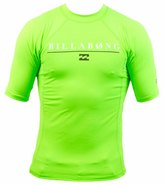 Billabong Boys' All Day Short Sleeve Rashguard 8115301
