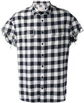 R 13 short sleeve shirt - men - Cotton - S
