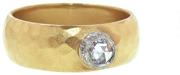 Cathy Waterman Moghul Diamond Rose Crown Ring