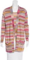 Akris Punto Striped Knit Cardigan Set