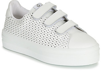 Victoria BARCELONA PIEL PERFORA women's Shoes (Trainers) in White