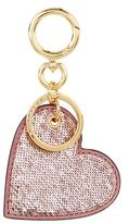 Burberry Shoes & Accessories Sequin Heart Charm Keyring
