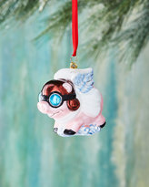 Christopher Radko Pigs are Flying Christmas Ornament