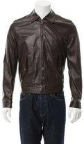 Salvatore Ferragamo Short Leather Jacket