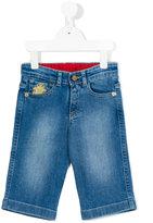 Billionaire Kids - embroidered jeans - kids - Cotton/Spandex/Elastane - 2 yrs