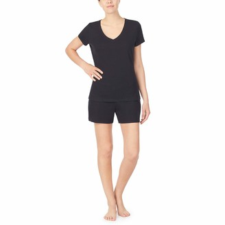 Nautica Women's V-Neck Sleep Top 100% Cotton Jersey