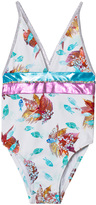 Pate De Sable Ocean Printed Swimsuit