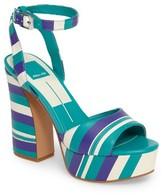 Dolce Vita Women's Gavvin Stripe Platform Sandal