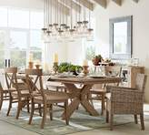 Pottery Barn Toscana Extending Dining Table - Seadrift finish