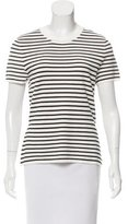 Zimmermann Short Sleeve Striped Top w/ Tags