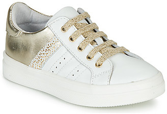 GBB DANINA girls's Shoes (Trainers) in White